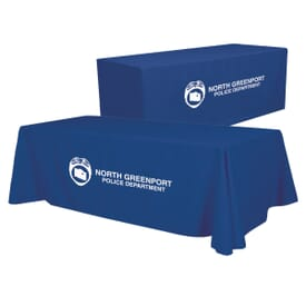 6'/8' Convertible Table Throw - One Color Thermal Imprint