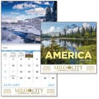 ON SALE-Landscapes of America Calendar - Spiral