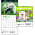 ON SALE-Puppies & Kittens Calendar - Mini